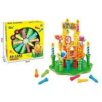Детский конструктор для девочки Праздничный торт подарок ребенку на день рождения