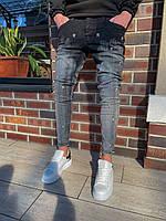 Мужские джинсы серые BLI 24