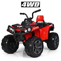 Детский квадроцикл (4 мотора по 35W, пульт управления, MP3, USB) Bambi M 3999EBLR-3 Красный