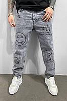 Мужские джинсы МОМ Black Island 15032 grey