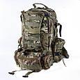 Рюкзак 40 литров армейский большой с подсумками Multicam, B7013MC, фото 3
