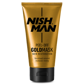 Золота маска для обличчя Nishman Purifying Peel-Off Gold Mask 150мл