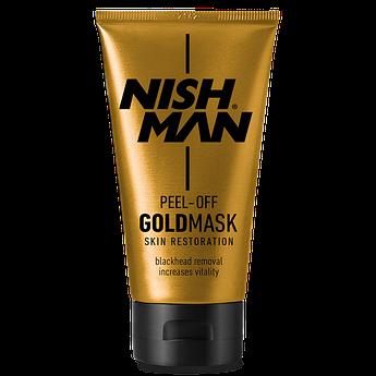 Золотая маска для лица Nishman Purifying Peel-Off Gold Mask 150мл