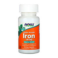 Залізо Iron Now Foods гелеві капсули 18мг №120