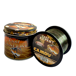 Волосінь коропова Carp Expert Camou 1000м 0.35
