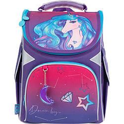 Рюкзак шкільний каркасний GoPack Education Dream big Фіолетовий (GO21-5001S-2)