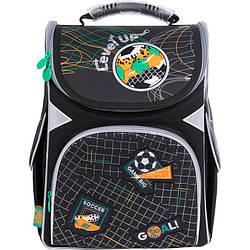 Рюкзак шкільний каркасний GoPack Education Level up Чорний (GO21-5001S-11)