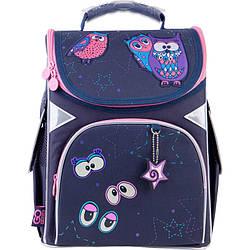 Рюкзак шкільний каркасний GoPack Education Magic Owls Темно-Синій (GO21-5001S-7)