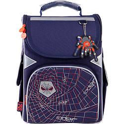 Рюкзак шкільний каркасний GoPack Education Spider Темно-Синій (GO21-5001S-8)