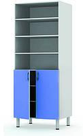 Шкаф-стеллаж комбинированный двухстворчатый Праймед
