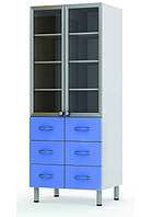 Шкаф комбинированный двухстворчатый Праймед