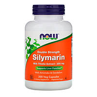 Силимарин (Расторопша) 300 мг Now Foods 200 гелевых капсул