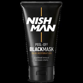 Чорна маска для обличчя Nishman Purifying Black Mask 150мл