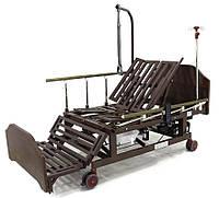 Ліжко електрична DB-11А Праймед з боковим перевертанням, туалетним пристроєм і функцією