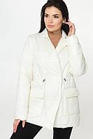 Куртка з плащової тканини Молоко