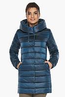 Куртка Braggart на молнии женская осенне-весенняя цвет темная лазурь модель 65085