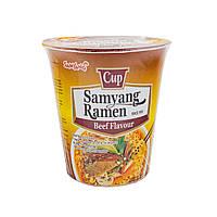 Локшина Рамен швидкого приготування зі смаком яловичини (Samyang Ramen Cup) SamYang 65 г