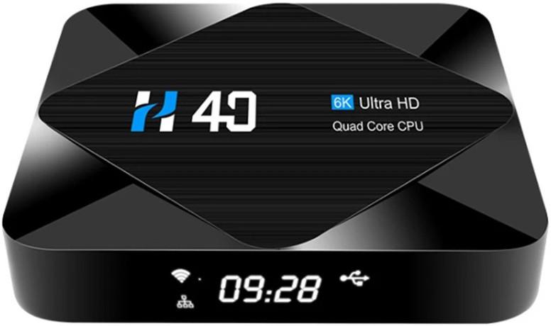 Приставка Topsion TV-BOX H40 | 4/64 GB | Allwinner H616 | Android TV Box