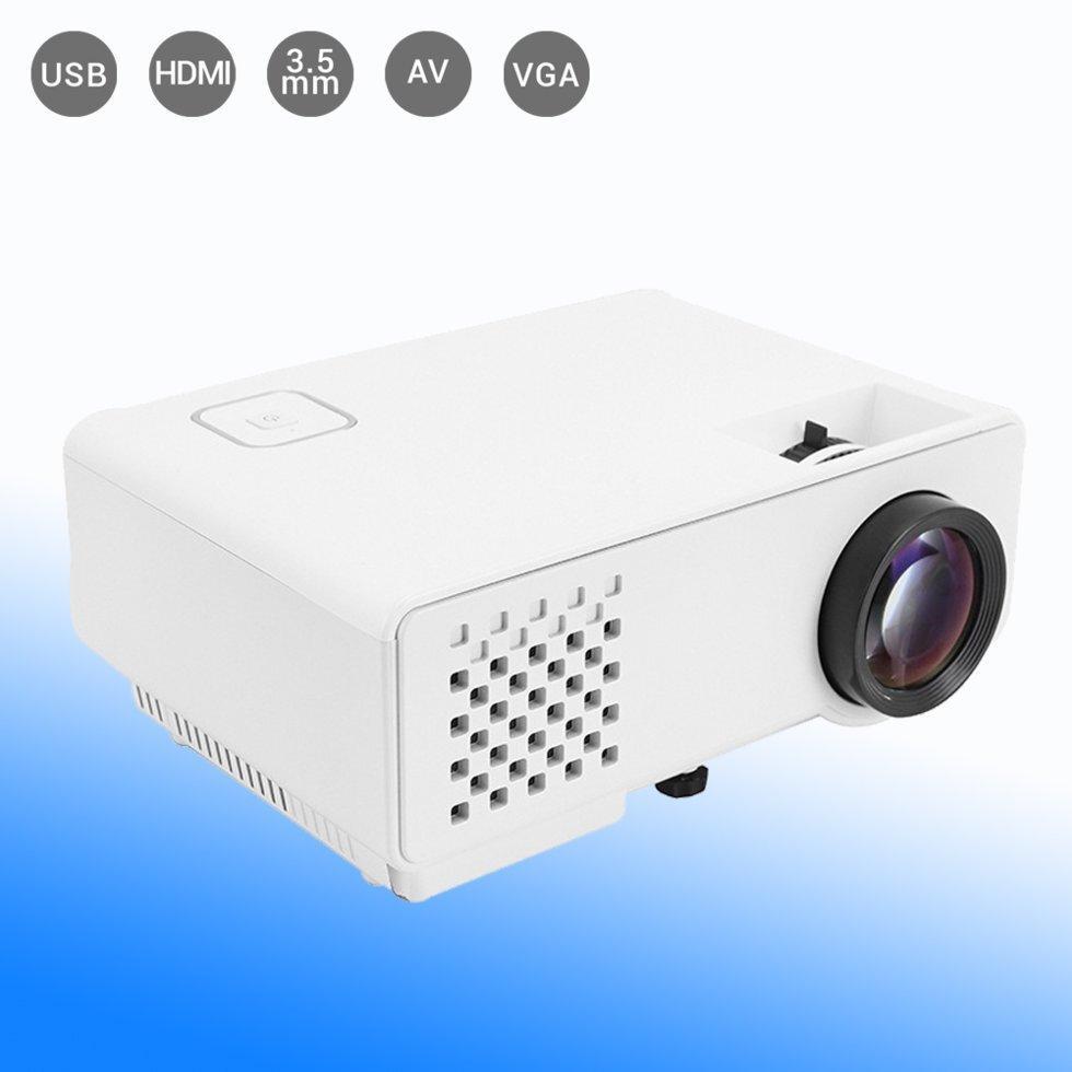 Світлодіодний мультимедійний проектор DL-810 портативний відеопроектор для домашнього кінотеатру