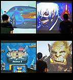 Світлодіодний мультимедійний проектор DL-810 портативний відеопроектор для домашнього кінотеатру, фото 10