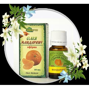 Ефірна олія мандарину 10мл ТМ Адверсо
