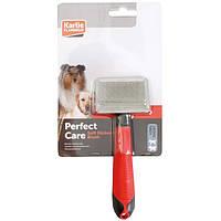 Flamingo Soft Slicker S ФЛАМИНГО мягкий сликер-пуходерка для собак и кошек, размер S