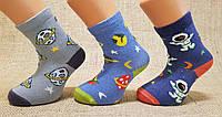 Детские носки средние с хлопка  для малышей Стиль люкс  16-18  682 космос