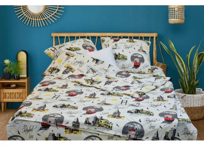 Комплект постельного белья двухспальный Вилюта Ранфорс 19022