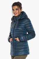 Куртка женская Braggart практичная осенне-весенняя цвет темная лазурь модель 63045