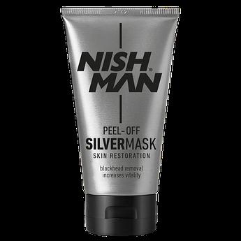 Срібна маска для обличчя Nishman Purifying Silver Mask 150мл