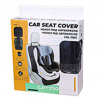 Захисний килимок під автокрісло CARRELLO CRL-7001 чорний
