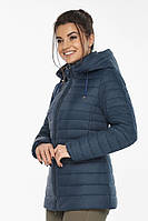 Синяя оригинальная куртка Braggart женская осенне-весенняя модель 63045