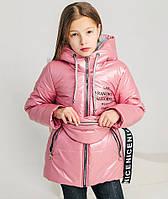 Детская демисезонная куртка для девочек 9-12 лет, весна-осень