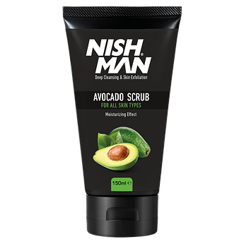 Скраб для лица Nishman Natural Avocado Face Scrub 150мл