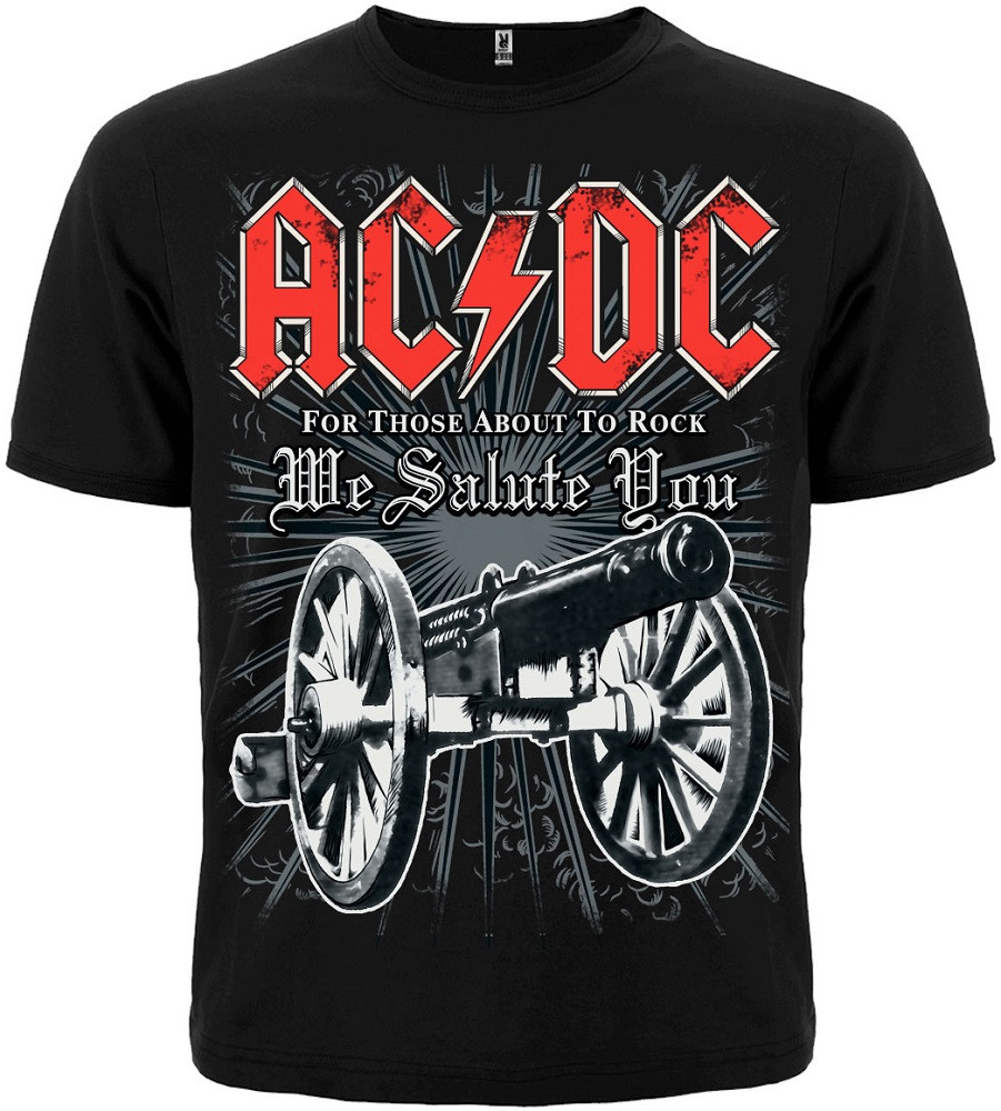 """Футболка AC/DC """"For Those About To Rock"""" Mk2"""