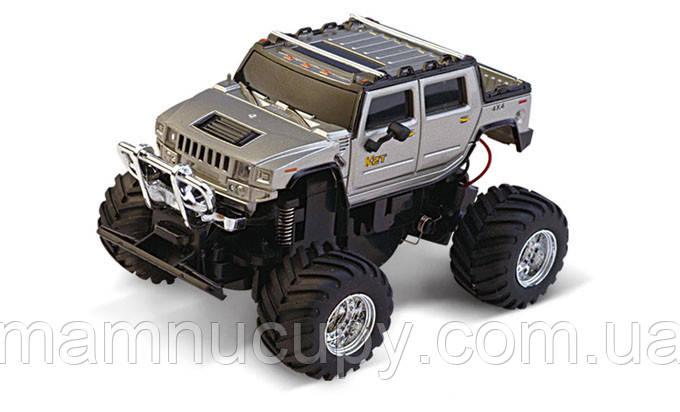 Машинка на радіоуправлінні Джип 1:58 Great Wall Toys 2207 (сірий)