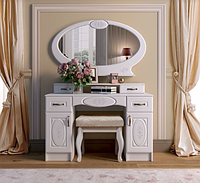 """Туалетний стіл з дзеркалом """"Василина"""" Майстер Форм купити в Одесі, Україні, фото 1"""