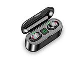 Бездротові вакуумні блютуз навушники True Wireless Headset F9 з шумозаглушенням, фото 2