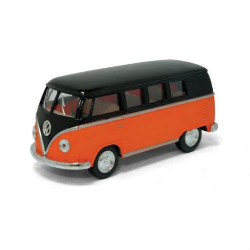 "Машинка KINSMART ""Volkswagen T2 BUS"" (помаранчева) KT5376W"