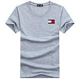 Чоловіча футболка у стилі Tomy томмі хілфігер, фото 10