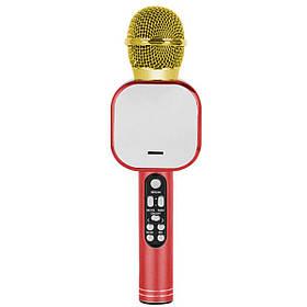 Беспроводной караоке микрофон Wster DM Q009 Красный