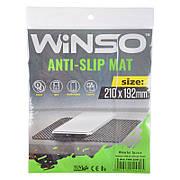 Антискользящий коврик Winso, размер 210*192 мм| Автомобильный коврик для телефона