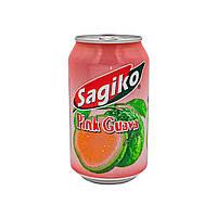 Напиток Гуава розавая Sagiko 320 мл, фото 1