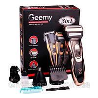 Бритва, триммер, машинка для стрижки волос головы, усов и бороды Gemei GM-595 3 Вт тример электробритва