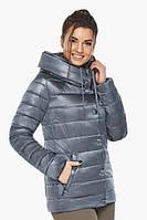 Осенне-весенняя куртка Braggart с вшитым капюшоном женская цвет маренго модель 61030