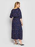 Плаття в підлогу синє Снежанна, фото 3