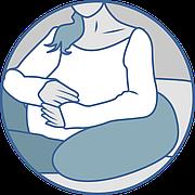 Подушка для вагітних і годування Olvi J2309