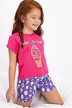Комплект (футболка+шорты) детский для девочки ТМ Roly Poly р.2-7 лет (6 шт в ростовке)