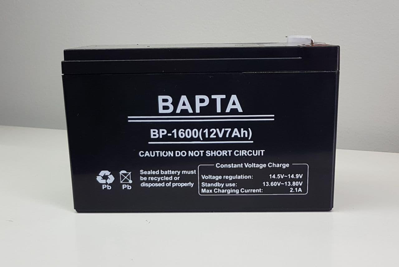 Аккумулятор 12V BP-1600 (12V7Ah)