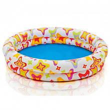 Дитячий надувний басейн Intex 59421 NP «Веселі зірочки» (122*25 см)